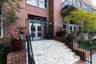 Atlanta Condo/Townhouse For Sale: 1023 Juniper Street NE #301