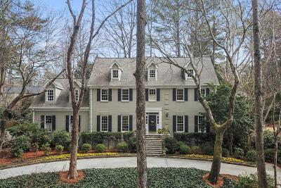 Sandy Springs Single Family Home For Sale: 995 Ivy Falls Drive