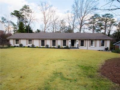 Atlanta Single Family Home For Sale: 1961 Starfire Drive NE