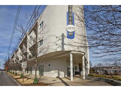 Atlanta Condo/Townhouse For Sale: 455 Glen Iris Drive NE #S