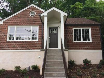 Single Family Home For Sale: 1663 E Clifton Road