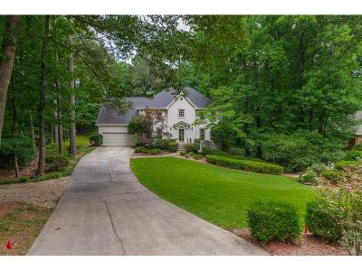 Marietta Single Family Home For Sale: 286 E River Cliff Gate SE