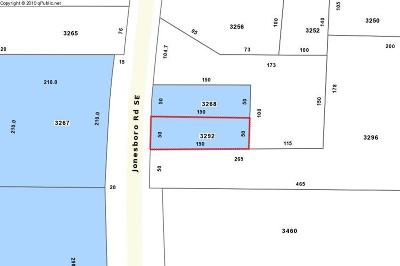 Residential Lots & Land For Sale: 3292 Jonesboro Road SE