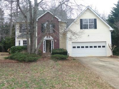 Flowery Branch Single Family Home For Sale: 7292 Coral Lake Drive