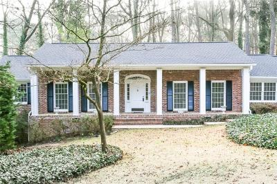 Atlanta Single Family Home For Sale: 2321 Sherbrooke Drive NE