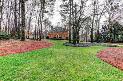 Atlanta Single Family Home For Sale: 1270 Heards Ferry Road