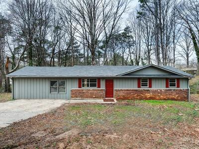 Lithia Springs Single Family Home For Sale: 8947 Meadow Drive