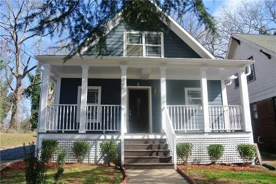 Atlanta Single Family Home For Sale: 486 W Ontario Avenue SW