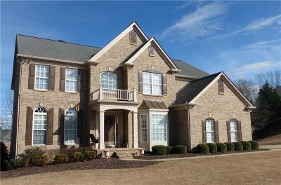 Suwanee Single Family Home For Sale: 351 Bournemouth Drive