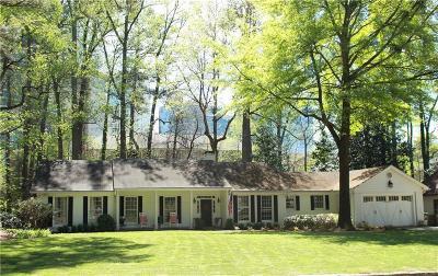 Atlanta Single Family Home For Sale: 677 Longleaf Drive NE