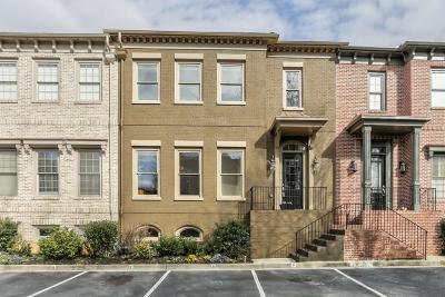 Brookhaven Condo/Townhouse For Sale: 1481 Village Park Court NE