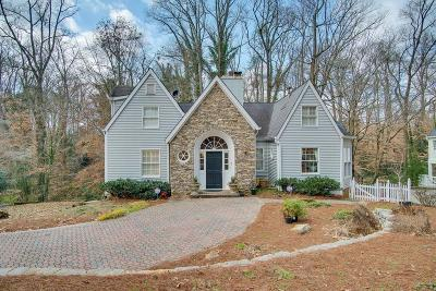 Brookhaven Single Family Home For Sale: 4152 Club Drive NE