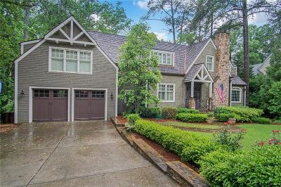 Brookhaven Single Family Home For Sale: 4164 Club Drive NE