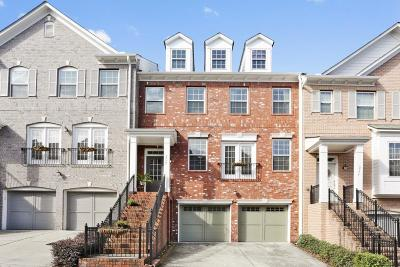 Brookhaven Condo/Townhouse For Sale: 2772 Durham Drive
