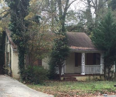 Atlanta Single Family Home For Sale: 1654 Derry Avenue SW