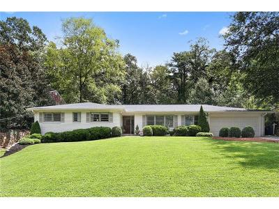 Atlanta Single Family Home For Sale: 2967 Sequoyah Drive NW
