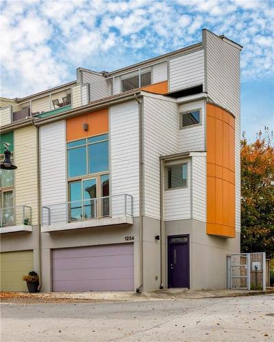 Atlanta Condo/Townhouse For Sale: 1254 Van Allen Mews NW