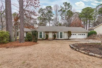 Roswell Single Family Home For Sale: 4515 Gilhams Road NE