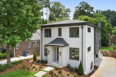 Atlanta Single Family Home For Sale: 803 Yorkshire Road NE