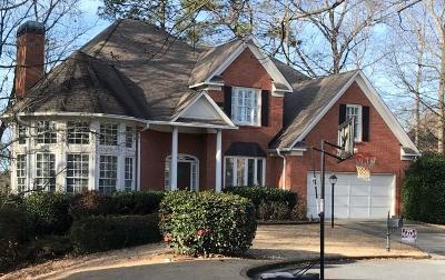 Brookhaven Single Family Home For Sale: 1516 Ashford Club Court NE