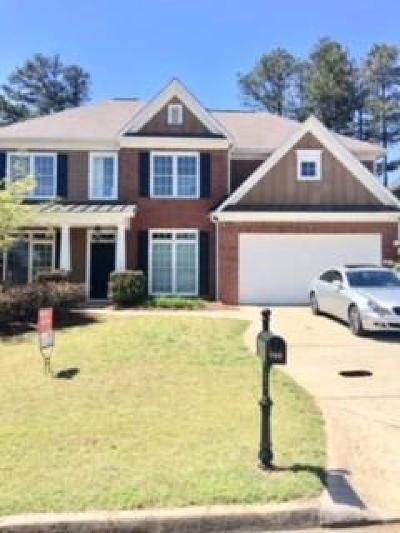 Cumming Single Family Home For Sale: 760 Washington Way