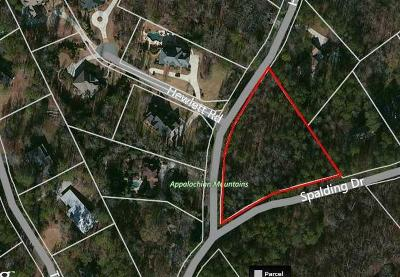 Sandy Springs Residential Lots & Land For Sale: 1790 Spalding Drive