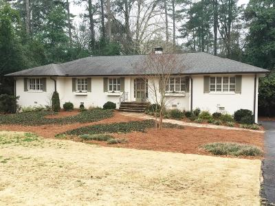 Atlanta Single Family Home For Sale: 3786 Ivy Lane