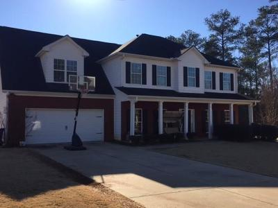 Conyers Single Family Home For Sale: 2108 Ginger Estates Drive NE