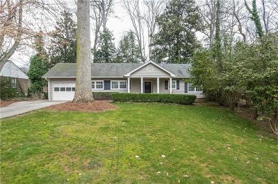 Sandy Springs Single Family Home For Sale: 436 Carolwood Lane NE