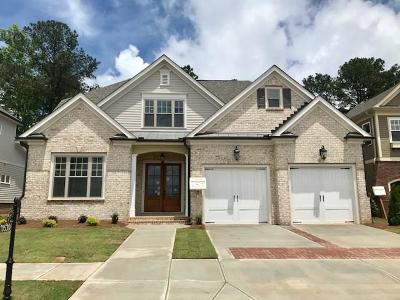 Johns Creek Single Family Home For Sale: 10530 Grandview Square