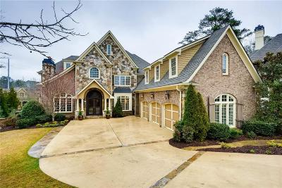 Marietta GA Single Family Home For Sale: $1,750,000