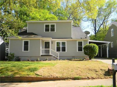 Single Family Home For Sale: 1678 John Calvin Avenue
