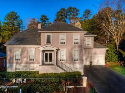 Alpharetta Single Family Home For Sale: 390 Rainbow Row Court