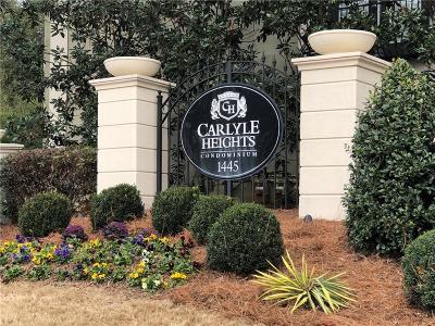 Atlanta Condo/Townhouse For Sale: 1445 Monroe Drive NE #F 9
