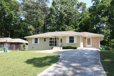 Single Family Home For Sale: 2070 Brannen Road