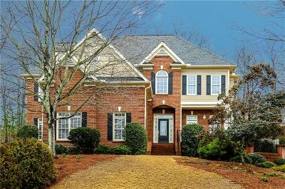 Roswell Single Family Home For Sale: 6105 Mountainwell Drive