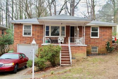 Single Family Home For Sale: 211 Hemphill School Road