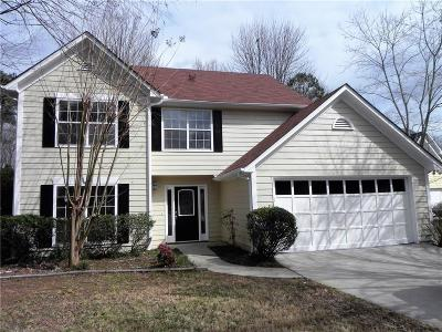Suwanee Single Family Home For Sale: 2405 Fosters Mill Court