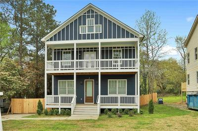 East Atlanta Single Family Home For Sale: 1881 Flat Shoals Road SE