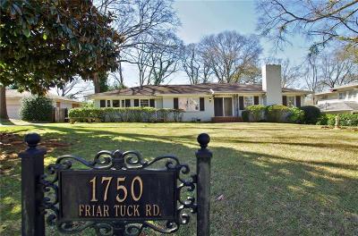 Residential Lots & Land For Sale: 1750 Friar Tuck Road NE