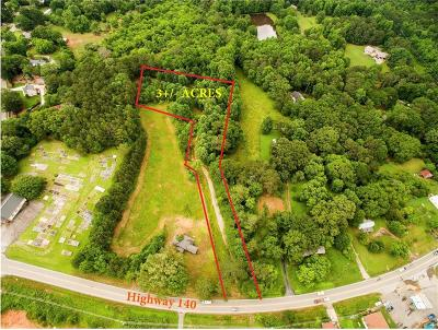 Canton Residential Lots & Land For Sale: 3183 Hickory Flat Highway