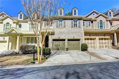 Roswell  Condo/Townhouse For Sale: 2672 Long Pointe