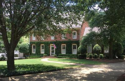 Dunwoody Single Family Home For Sale: 2191 Brooke Farm Court