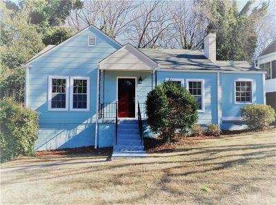 Single Family Home For Sale: 1352 Lockhaven Circle SW