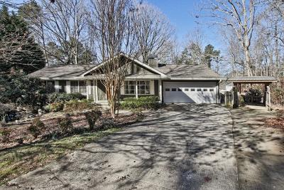 Buford Single Family Home For Sale: 6244 Lakeview Drive