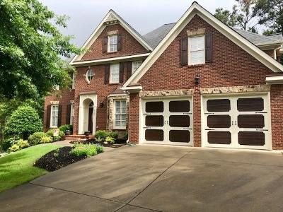 Acworth Single Family Home For Sale: 6160 Fernstone Court NW