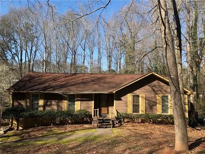 Mableton Single Family Home For Sale: 584 Benson Hurst Drive SW