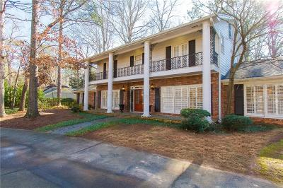 Atlanta Single Family Home For Sale: 1190 W Paces Ferry Road NW
