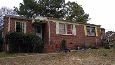 Multi Family Home For Sale: 717 Casplan Street SW