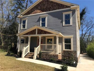 Single Family Home For Sale: 310 Ashburton Avenue SE